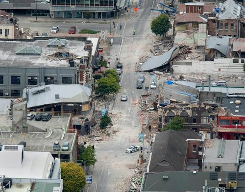 Christchurch dopo il terremoto