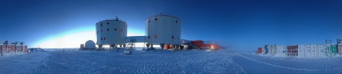 La base europea Concordia in Antartide