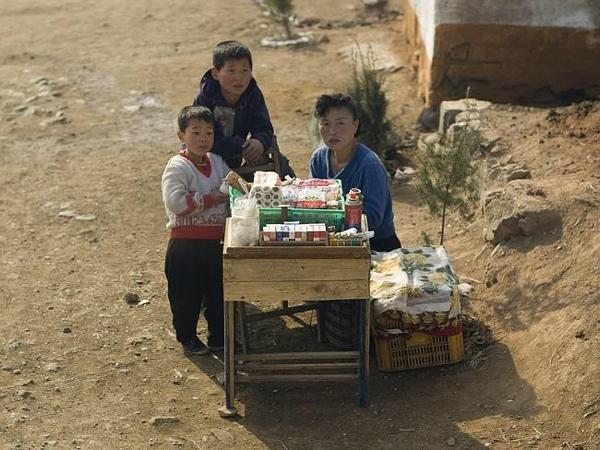Poveri in Corea del Nord