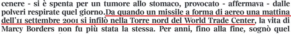 Screenshot del Corriere della Sera