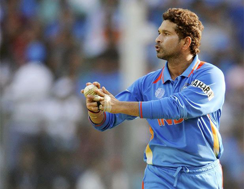 Un momento della finale della coppa del mondo di cricket 2011