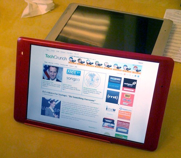 Il tablet di TechCrunch
