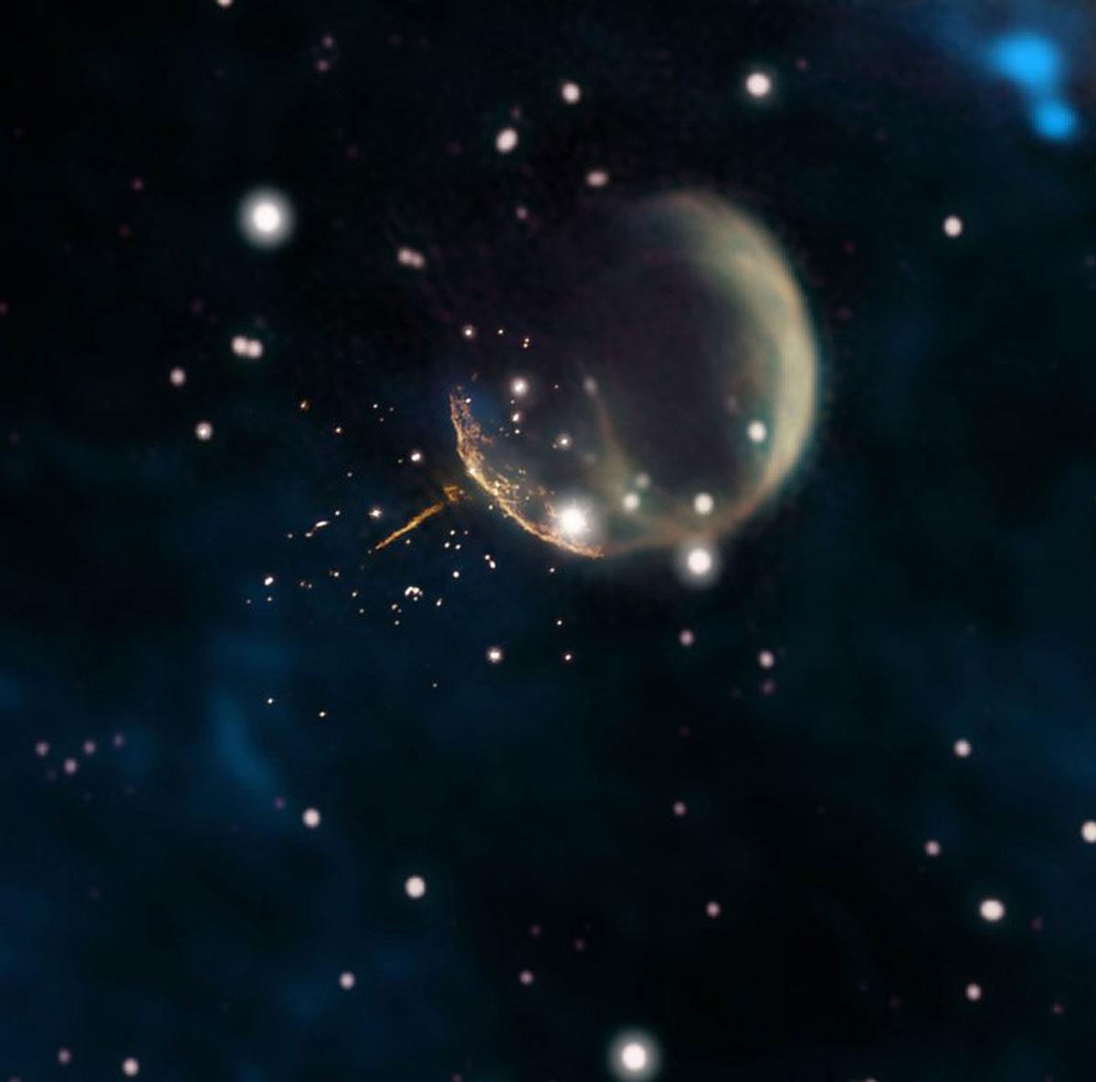 La supernova CTB 1 e la pulsar J0002+6216