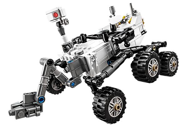 Il rover Curiosity di Lego