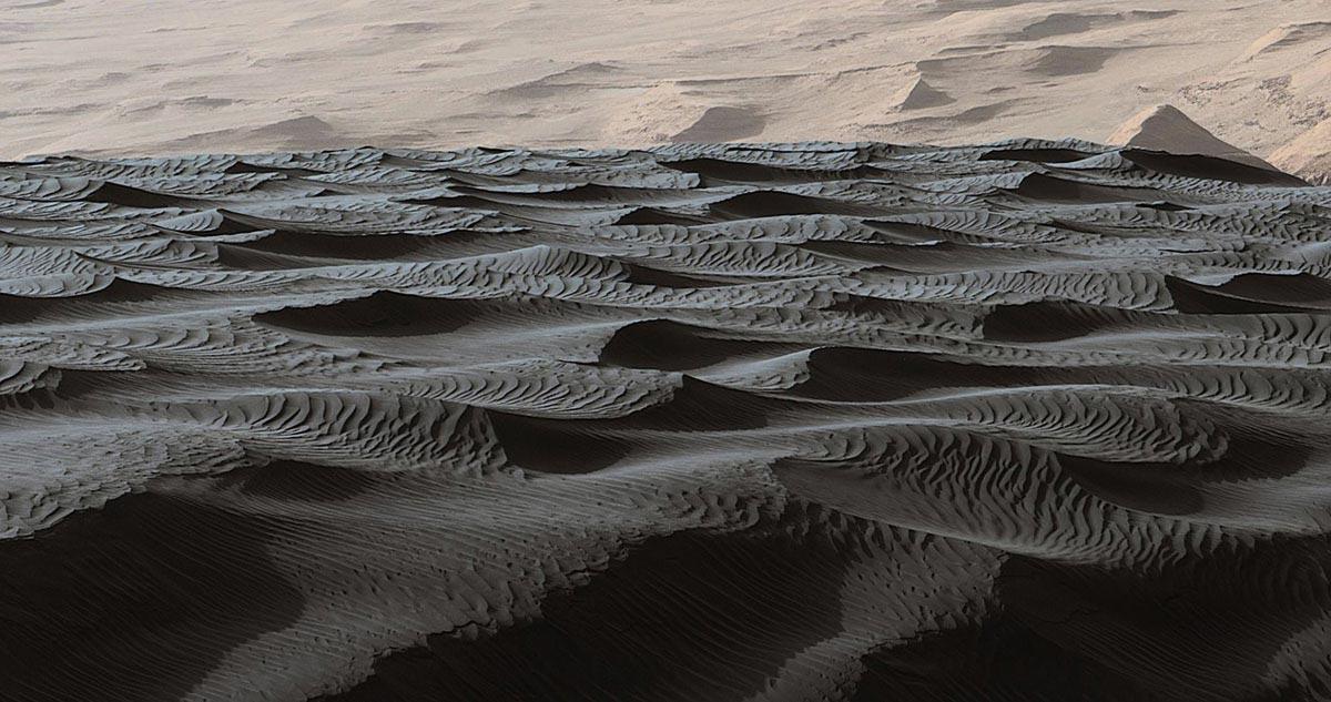 Dune di sabbia su Marte