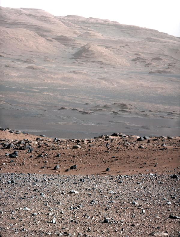 Il monte Sharp su Marte