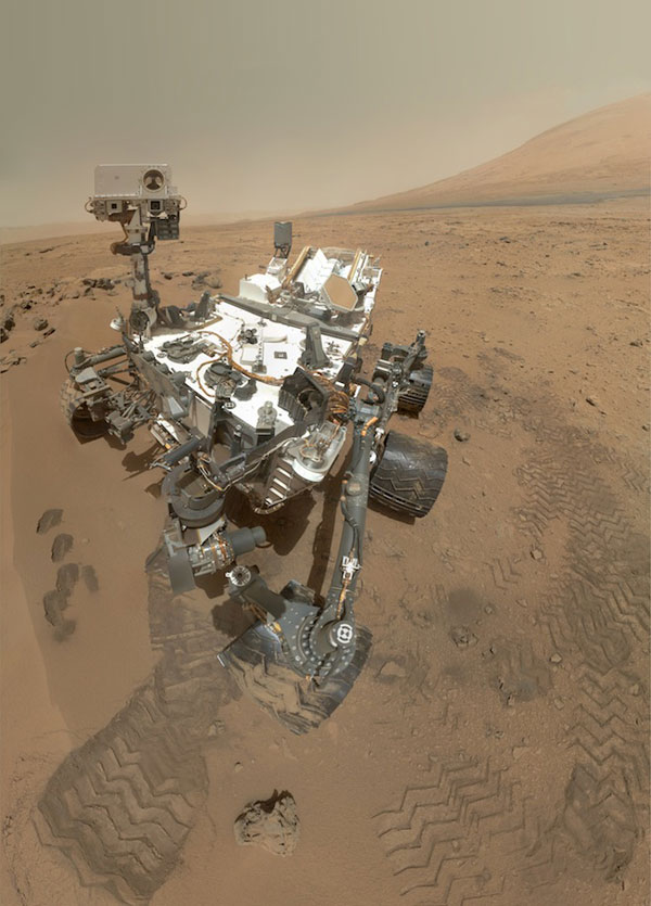 L'autoritratto di Curiosity