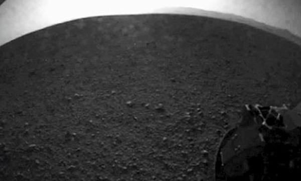 La prima foto di Marte scattata da Curiosity