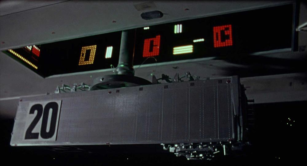 Scena tratta da Dark Star di John Carpenter