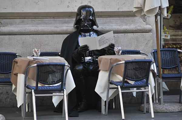 Darth Vader a Roma