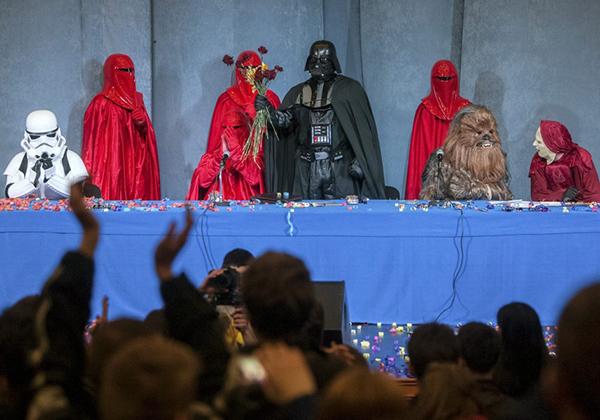 Darth Vader candidato alle presidenziali in Ucraina
