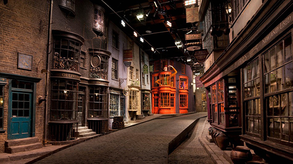 Diagon Alley su Street View