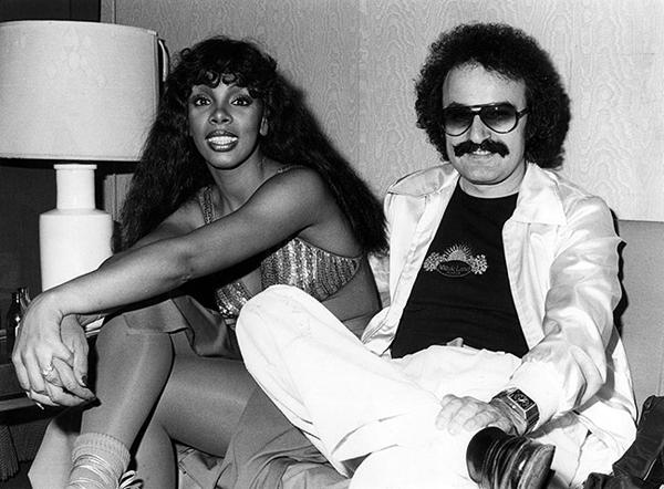 Donna Summer con Giorgio Moroder
