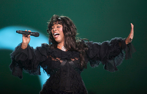 Donna Summer al Nobel Peace concert