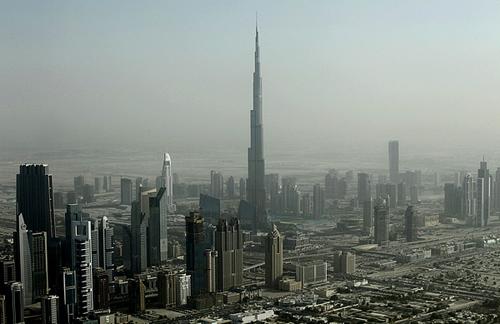 Il Burj Khalifa a Dubai