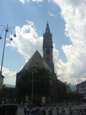 Piazza Walther e il Duomo (Bolzano)