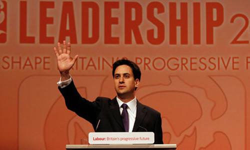 Ed Miliband è il nuovo leader del partito laburista britannico