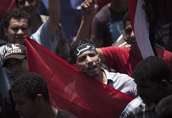 Oppositori del presidente Morsi