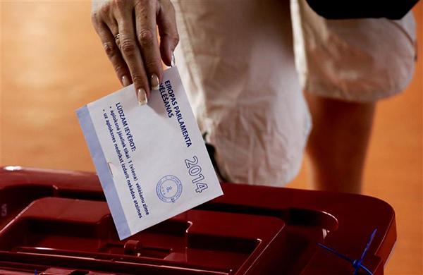 Il voto per le europee 2014