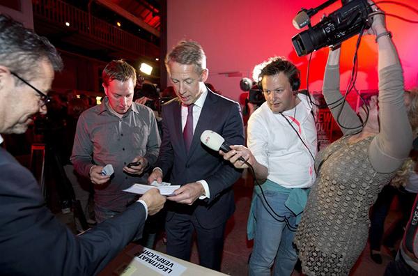 Seggio per le europee 2014 nei Paesi Bassi