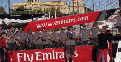 Il team Emirates (New Zealand)