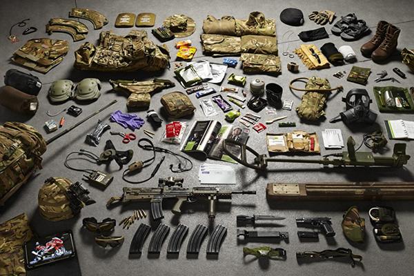 L'equipaggiamento dei soldati britannici attraverso i secoli