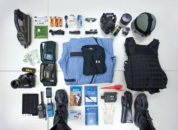 L'equipaggiamento di un ispettore per le armi chimiche