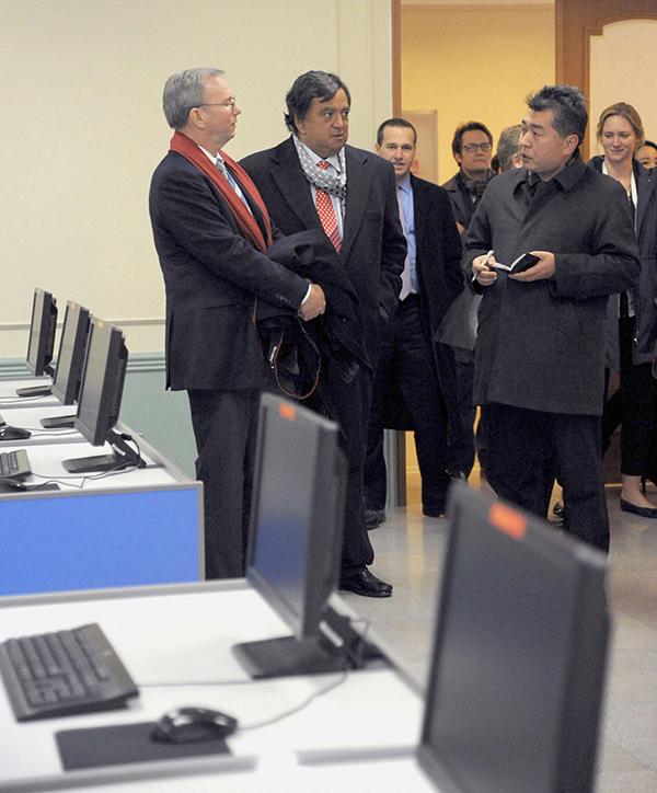 Eric Schmidt in Corea del Nord