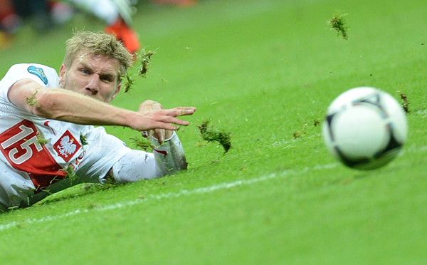 Il polacco Damien Perquis a Euro 2012