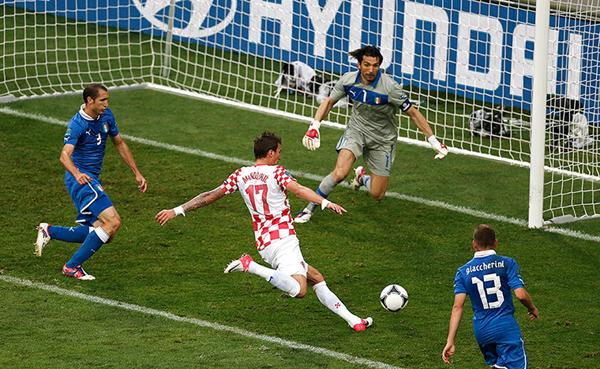 Croazia e Italia a Euro 2012