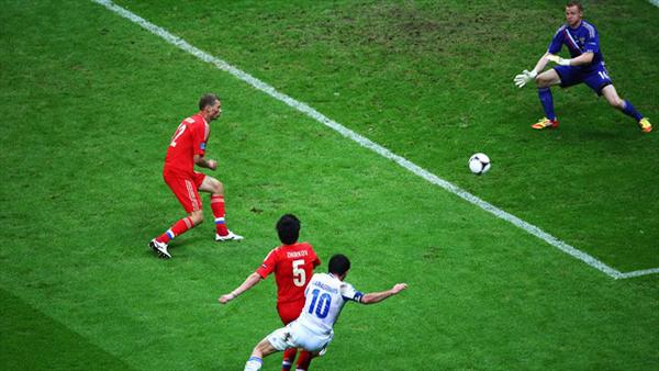 Grecia e Russia a Euro 2012
