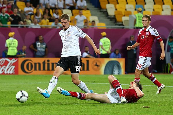 Germania e Danimarca a Euro 2012