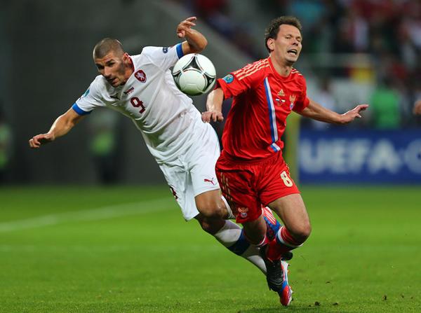 Russia e Repubblica Ceca a Euro 2012