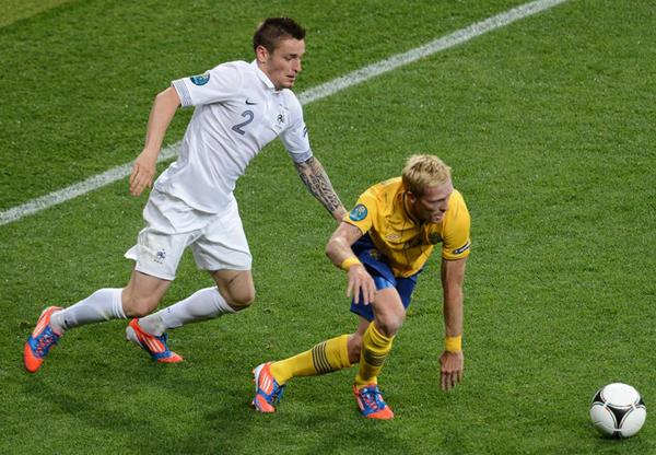 Francia e Svezia a Euro 2012