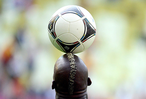 La testa di Mario Balotelli a Euro 2012