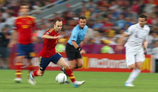 Iniesta a Euro 2012