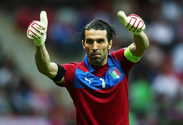 Gigi buffon a Euro 2012