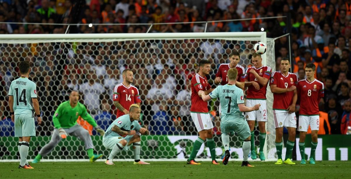 Belgio-Ungheria a Euro 2016