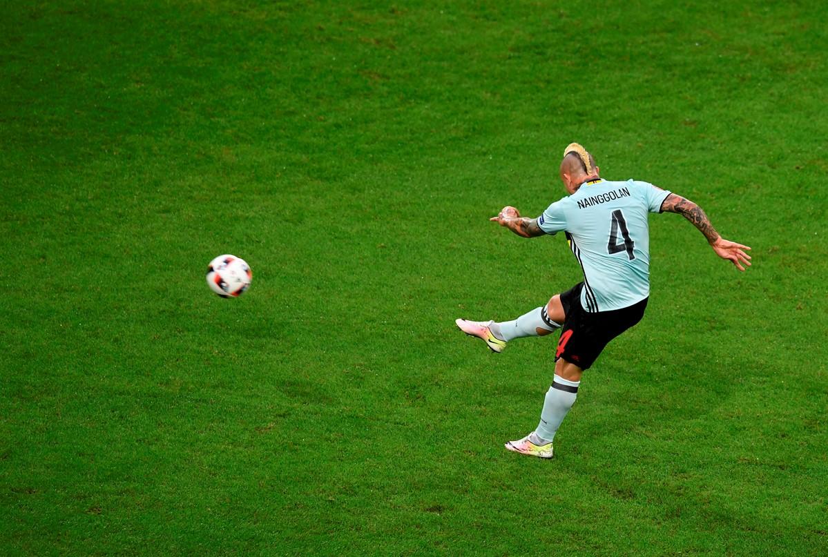 Radja Nainggolan del Belgio a Euro 2016