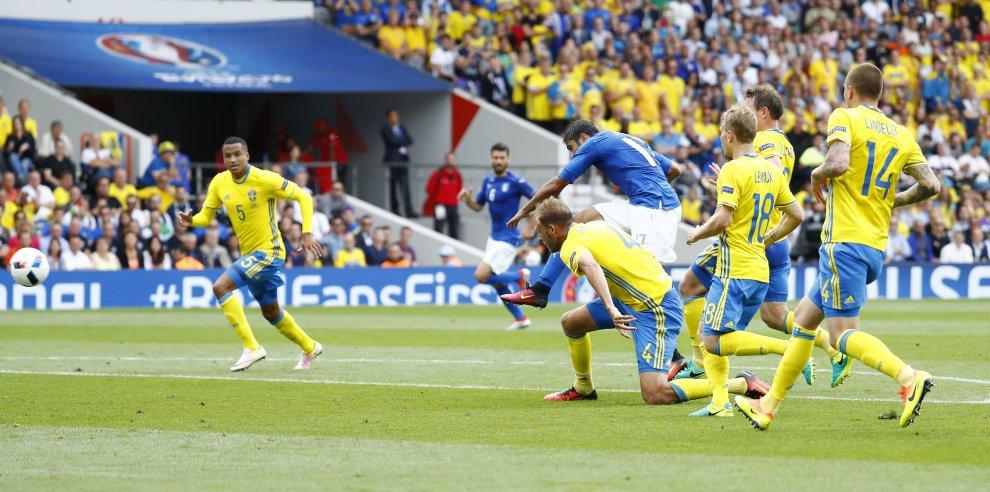 Italia e Svezia a Euro 2016