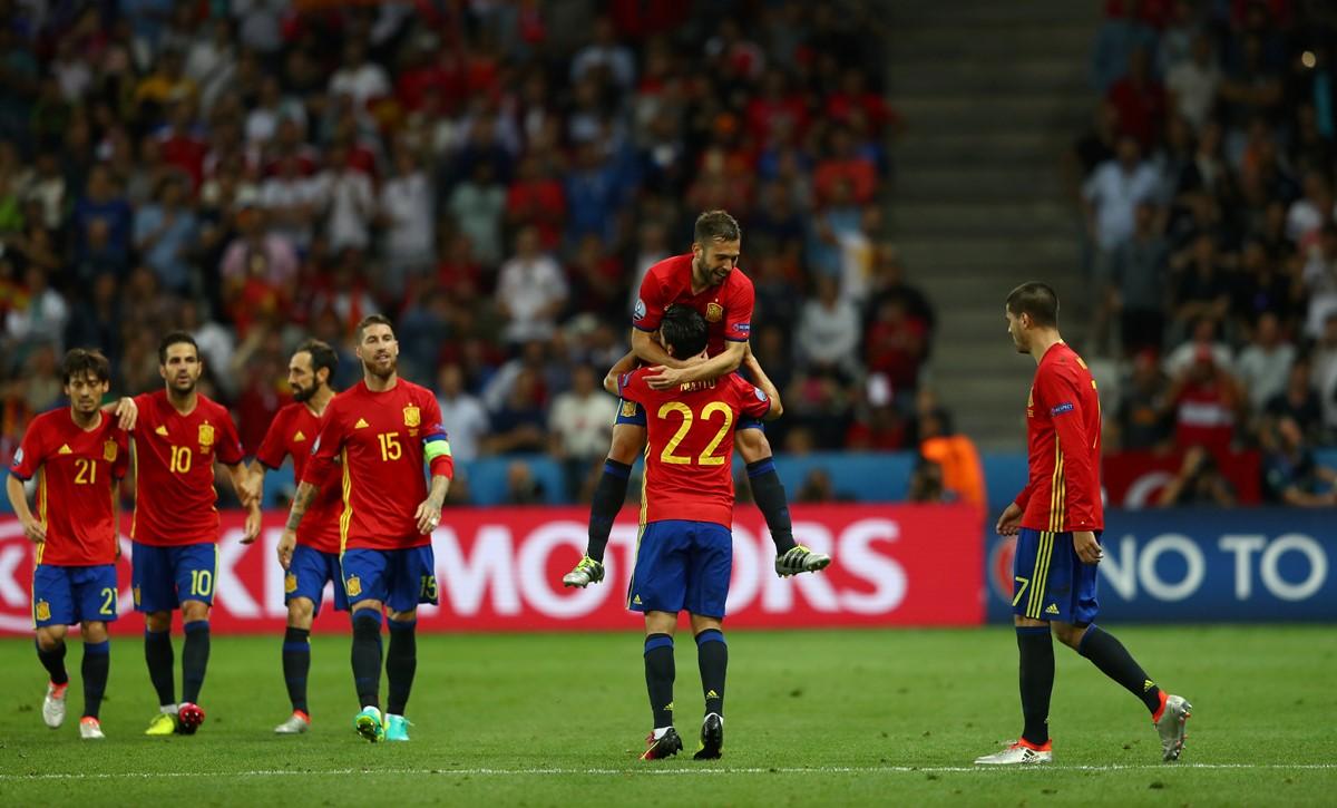 La Spagna a Euro 2016