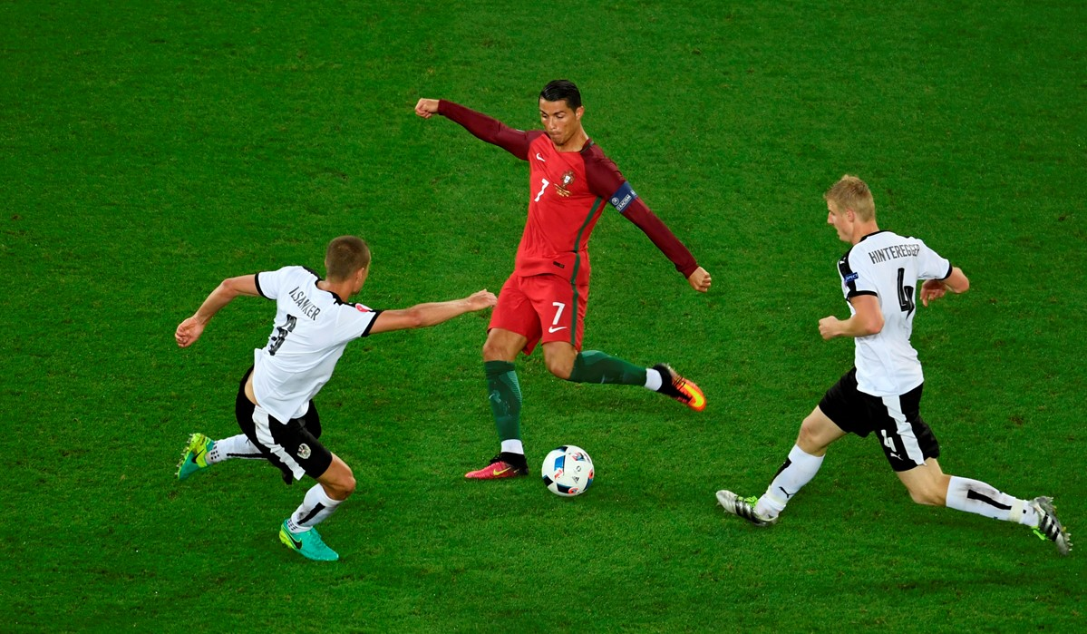 Cristiano Ronaldo a Euro 2016