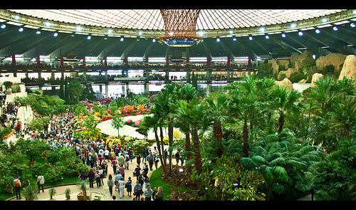 Vista d'insieme di Euroflora