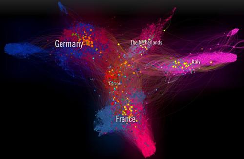 La mappa dell'eurosfera