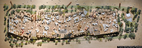 Il campus di Facebook progettato da Frank Ghery