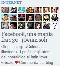 L'articolo su Facebook del Corriere della Sera