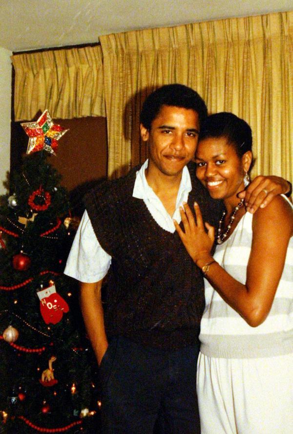 Giovani Obama a Natale