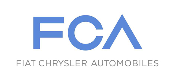 Il logo della Fiat Chrysler Automobiles