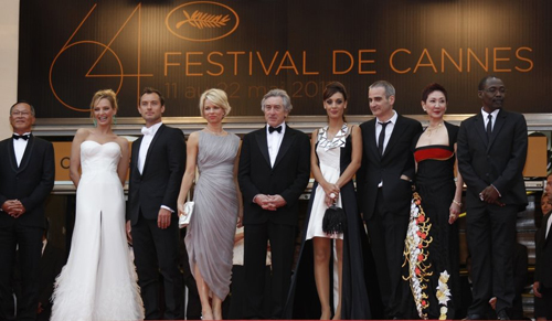 La giuria del Festival di Cannes