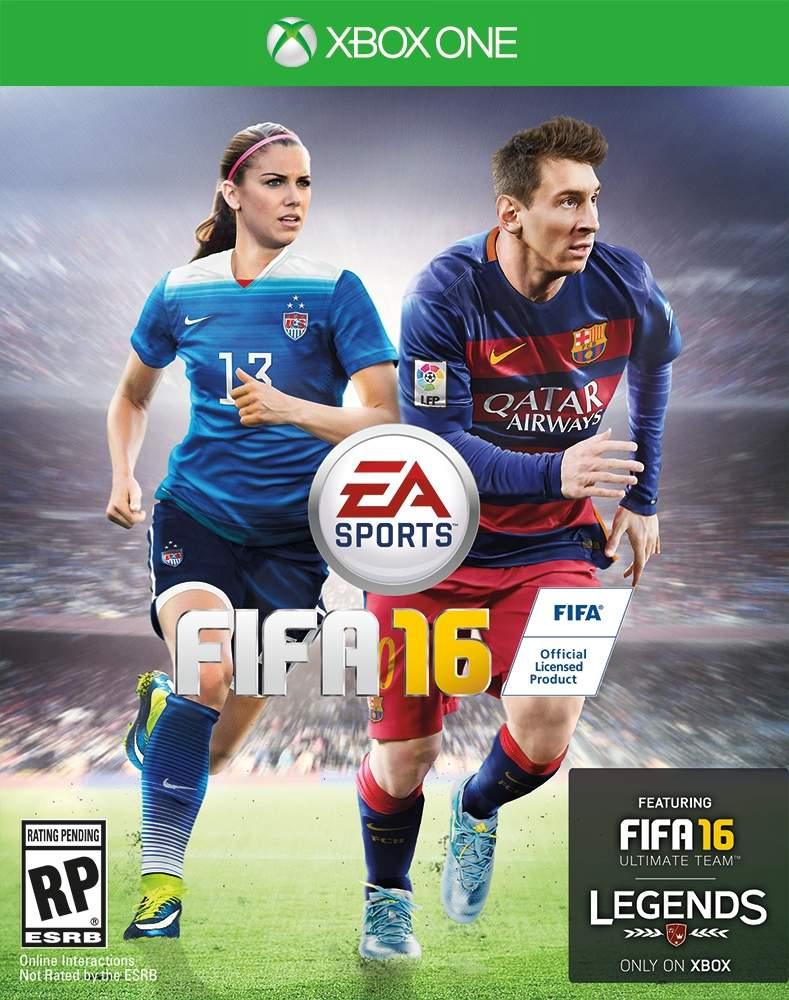 Il calcio femminile sulla cover di FIFA 16